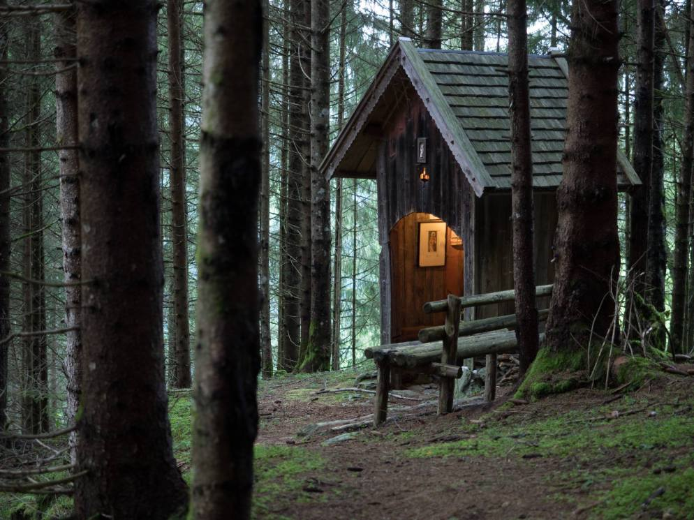 Die Magdalen-Kapelle im Fichtenwald