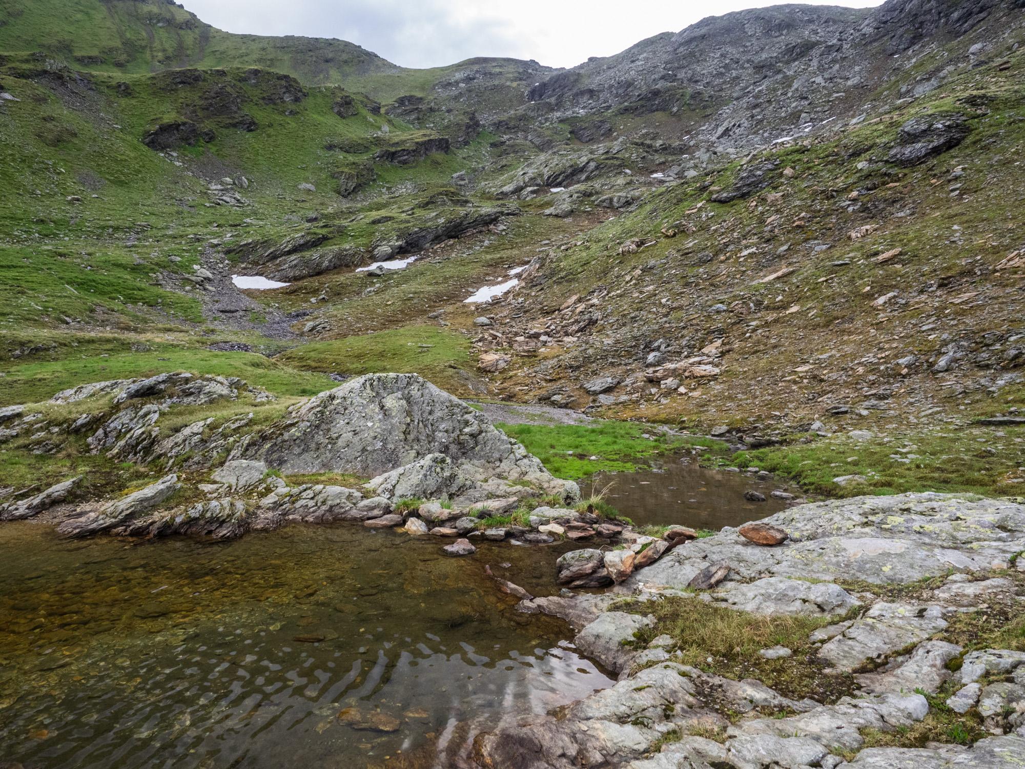 Blick vom Steinkasern-See zum Eisenkar