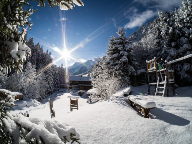 Winterspaziergang im Voldertal