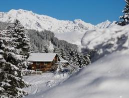 Blick talauswärts zum Karwendel