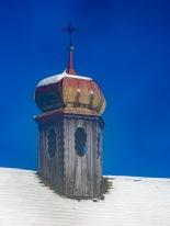 Der Turm der Stiftsalm-Kapelle