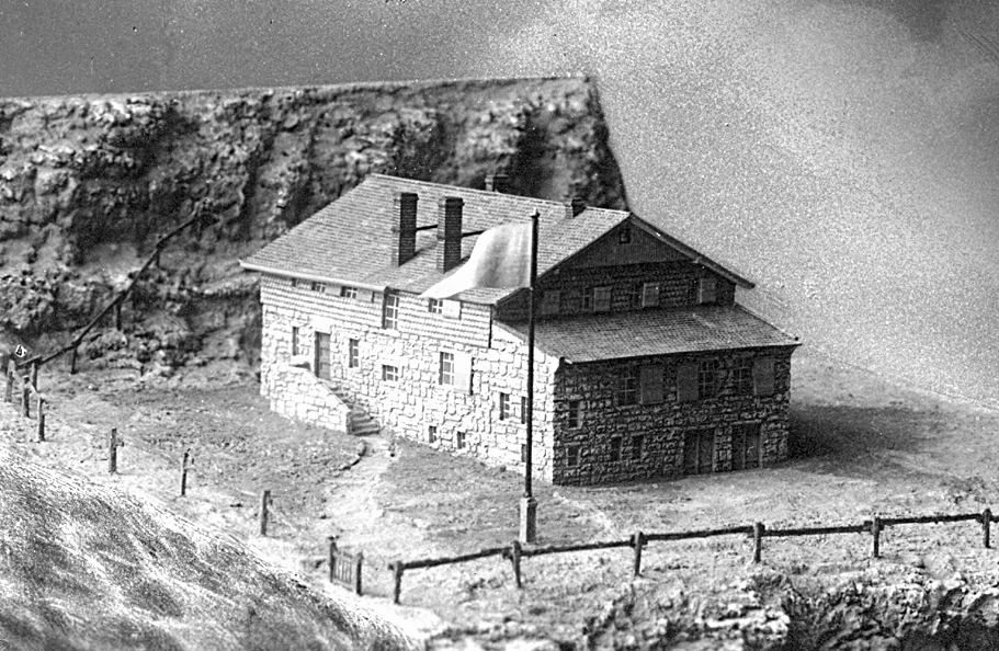 Modell der Charlottenburger Hütte