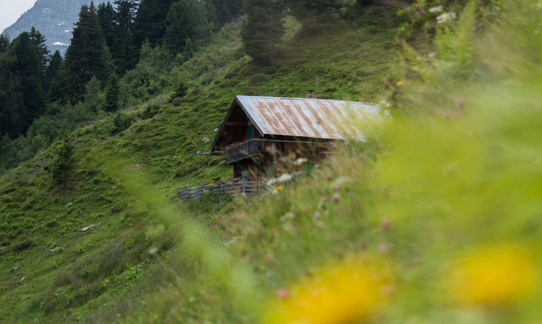 Hütte der Stalsinsalm