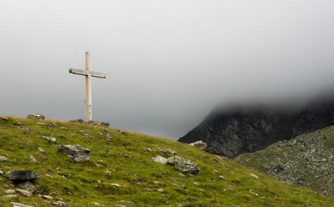 Gipfelkreuz am Schartenkogel