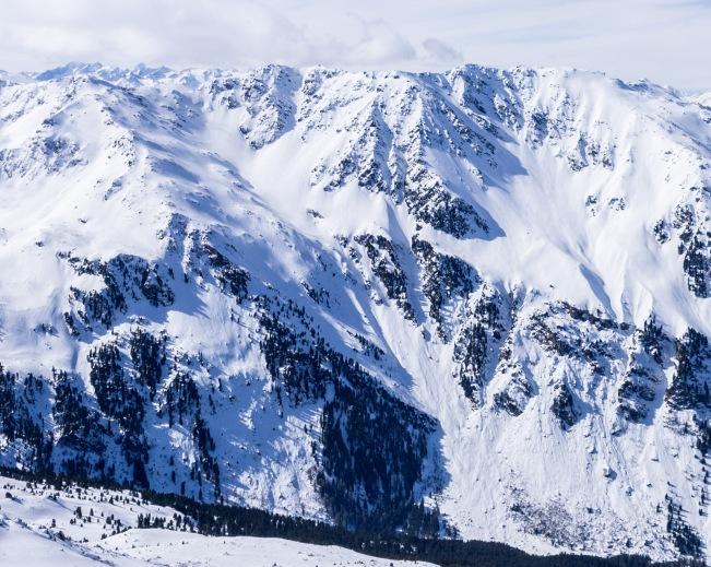 Glungezer, Gamslahnerspitze und Mitterkar im Winter