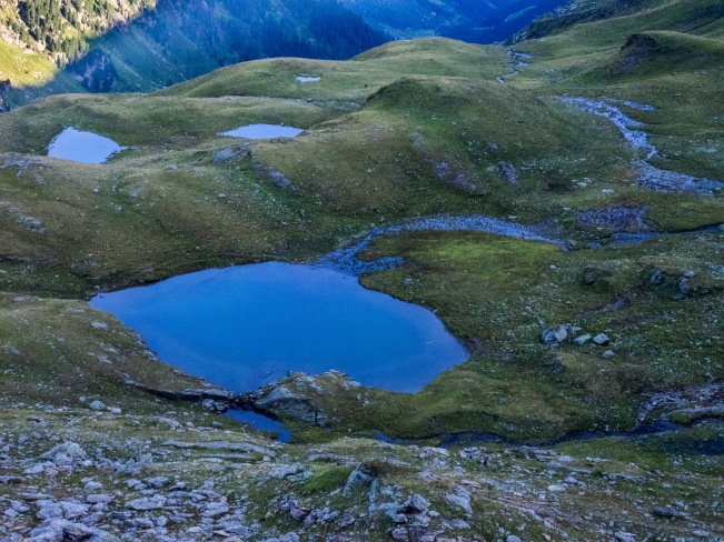Steinkasern-See und weitere Lacken