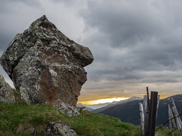 Felsen beim Largozgipfel