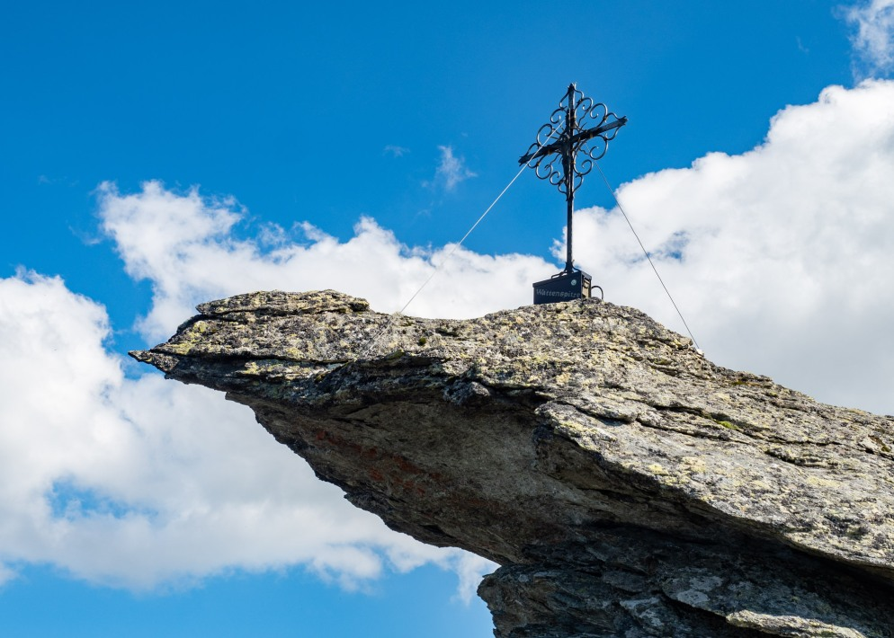 Gipfelkreuz auf der Wattenspitze